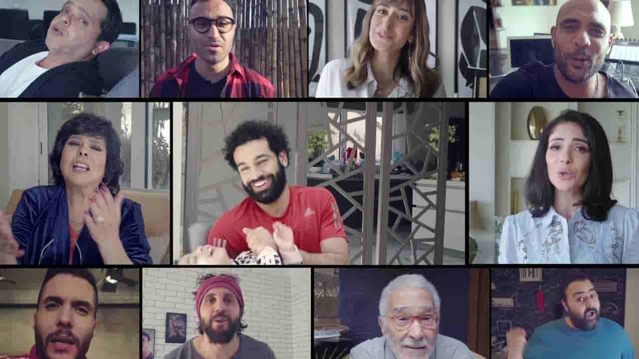 كلمات اعلان فودافون رمضان عزوتنا ملايين شيرين
