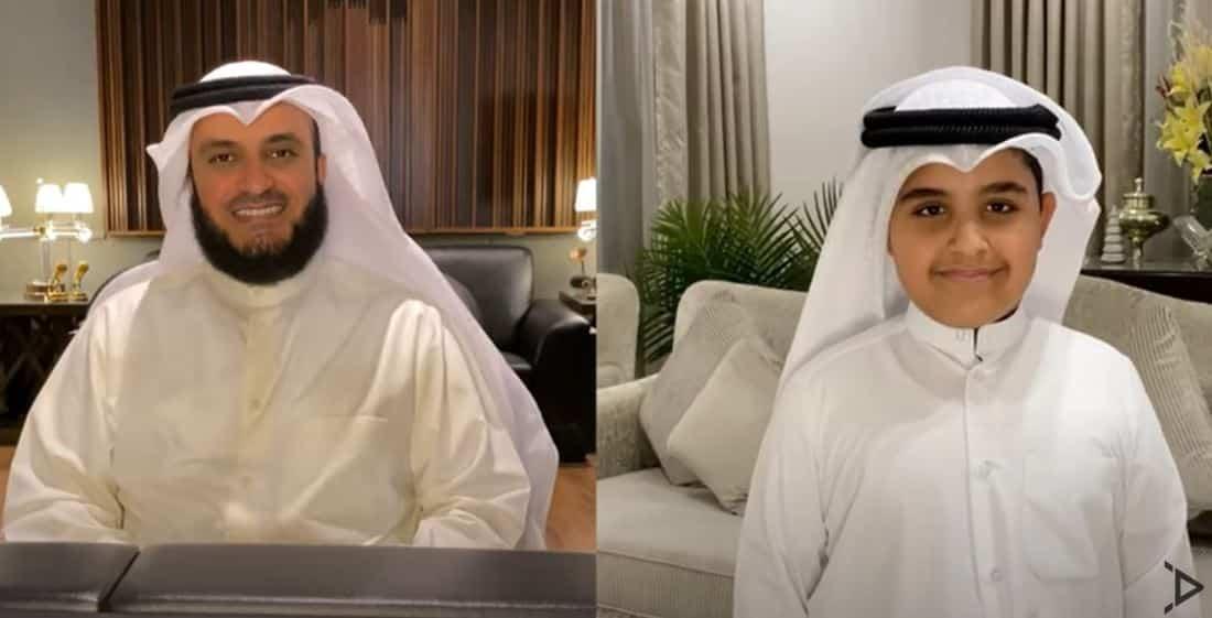 كلمات نشيد المصطفى مشاري راشد العفاسي