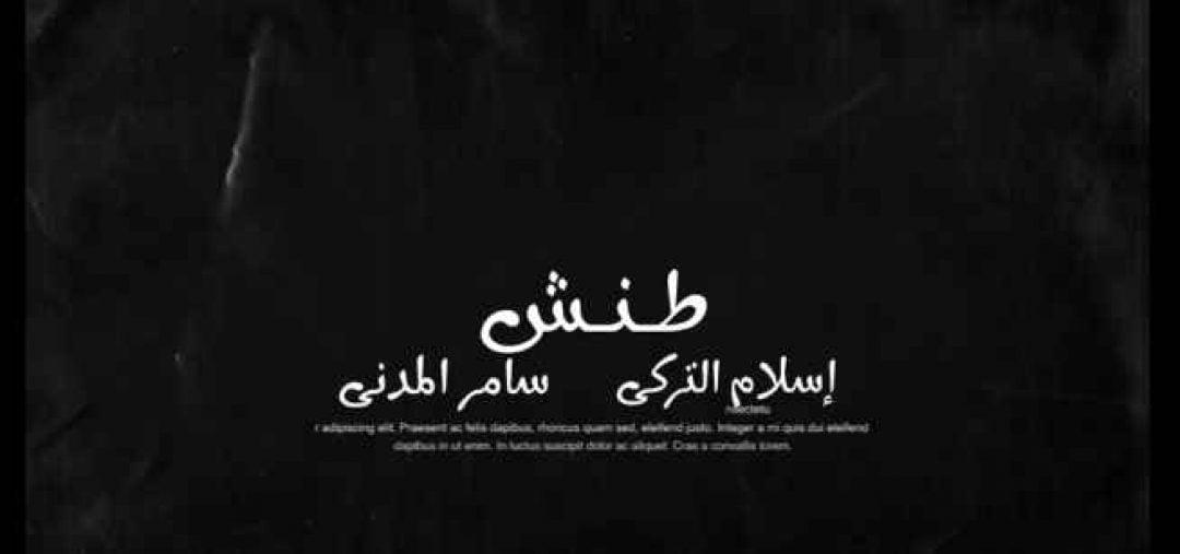 كلمات مهرجان طنش سامر المدنى اسلام التركي